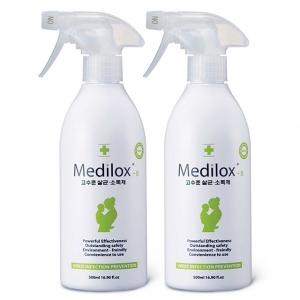 메디록스B 가정용 살균소독제 500ml - 2개